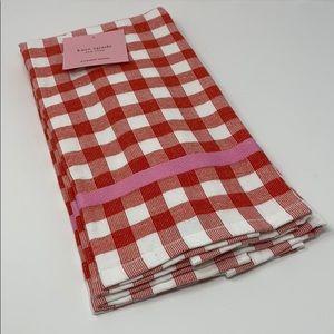 Kate spade set of two kitchen towels